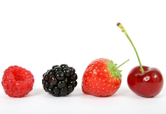 Les sources principales de l'acide ellagique sont le bleuet sauvage, la framboise et la fraise.